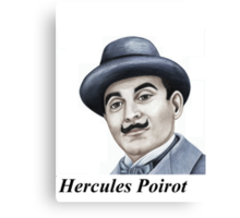 Hercules Poirot : Pointing the finger of blame 659 views Canvas Print
