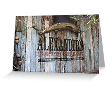 Bait Shack Greeting Card