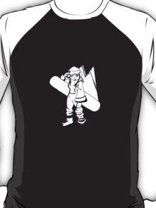 Snow Board Girl T-Shirt