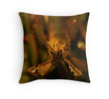 Alan the Stick Insect Throw Pillow
