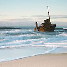 The Wreck of the Sygna - Stockton Beach, NSW by Kim Roper