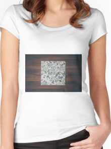 Classic album photographed Led Zeppelin III Women's Fitted Scoop T-Shirt