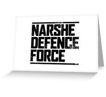 Narshe Defence Force Greeting Card