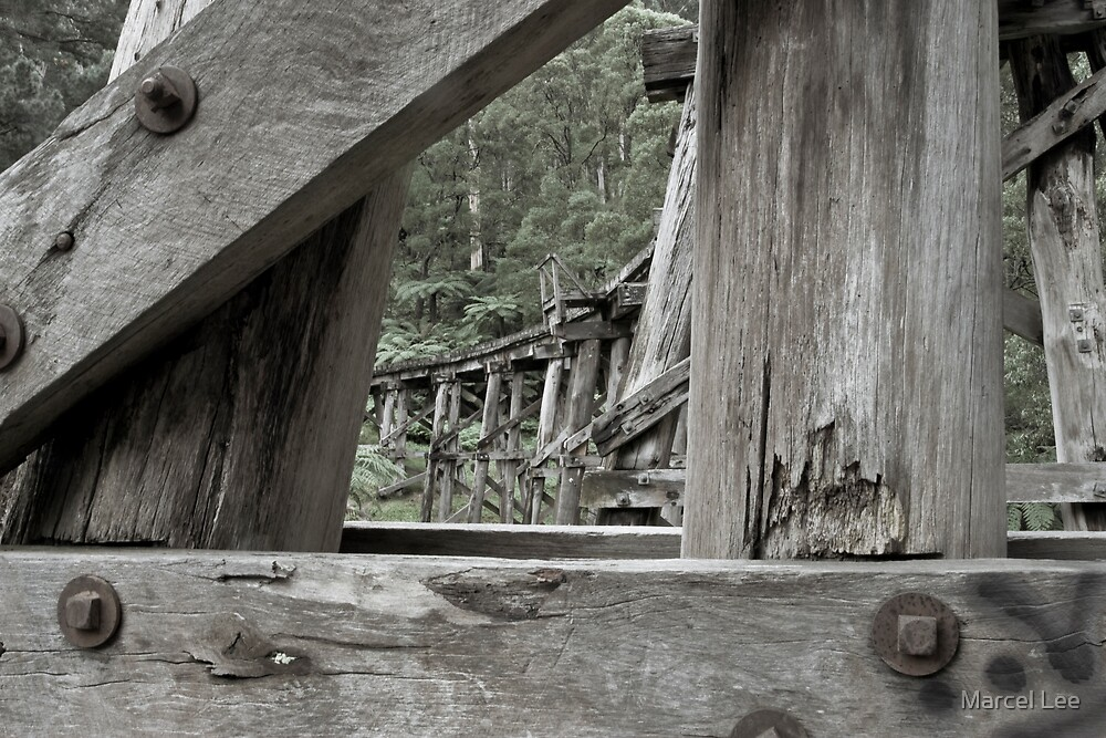 Old Railway Track by Marcel Lee