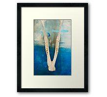 Jawbone Framed Print