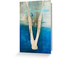 Jawbone Greeting Card