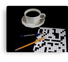 Pen or Pencil Canvas Print