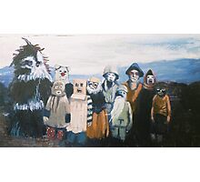 Hebrides Fancy Dress Photographic Print