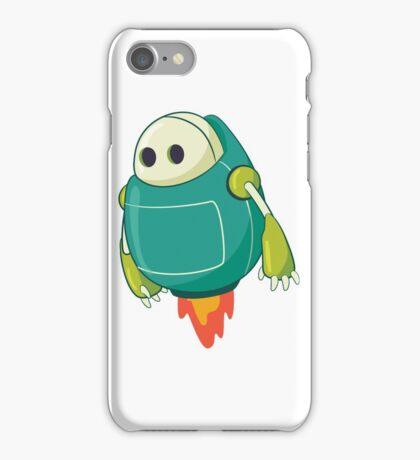 Funny & Cute Retro Futurism Vintage Toy Robot Design for men, women and kids iPhone Case/Skin