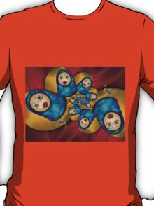 Inner Child - Russian Dolls At Night T-Shirt