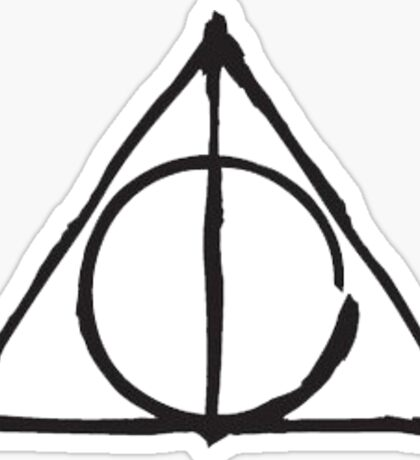 The Deathly Hallows Sticker