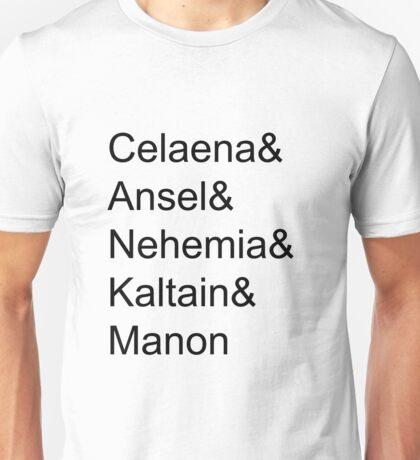 Celaena & Ansel & Nehemia & Kaltain & Manon Unisex T-Shirt