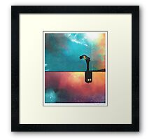 Peace for Lonely Monsters Framed Print