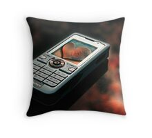 Mobile! Throw Pillow