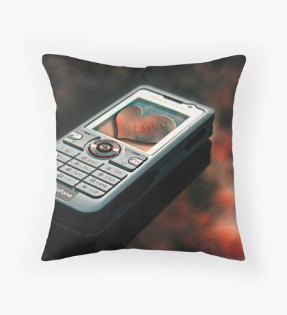 Mobile! Throw Pillow