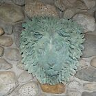 Lion water fountain or used wall and gate pillar s by Stephan  Kraft