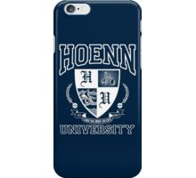 Hoenn University iPhone Case/Skin