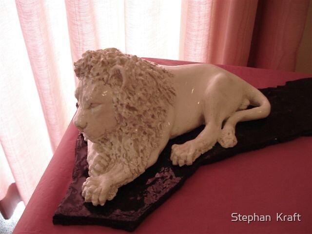 Sleepy Lion by Stephan  Kraft