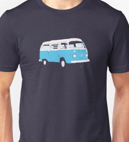 Bay Window Campervan Basic Colours (see description) Unisex T-Shirt