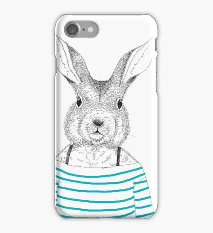 Stripped Bunny iPhone Case/Skin