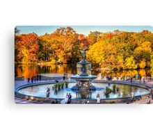 The Bethesda Fountain Canvas Print