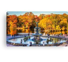 The Bethesda Fountain Canvas Print