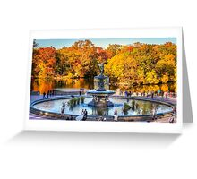 The Bethesda Fountain Greeting Card