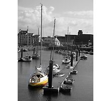 Yellow Boat Photographic Print