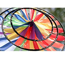 Wind Wheel Photographic Print