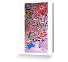 Anatomical landscape Greeting Card