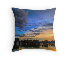 A Tranquil Summers Evening Throw Pillow