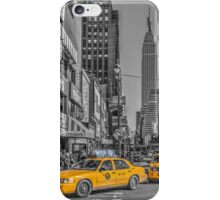 Yellow Cabs iPhone Case/Skin