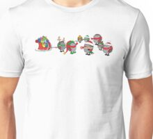 Hedgehog's Christmas magic Unisex T-Shirt