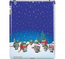 Hedgehog's Christmas magic iPad Case/Skin