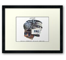 Forest Hill Drive Framed Print