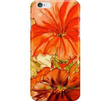 Peachy Petunias...for everything.. iPhone Case/Skin