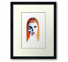 Hayley W. Framed Print