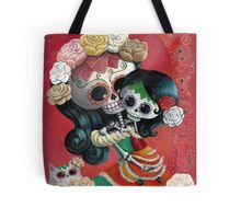 Mexican Skeletons Mother and Daughter Tote Bag