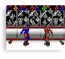 Hockey Fight 1 Canvas Print
