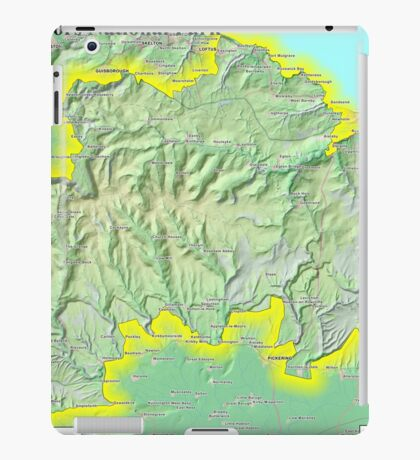 North York Moors National Park iPad Case/Skin