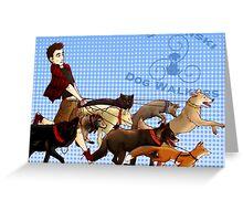Stilinski Dog Walkers Greeting Card