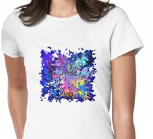 Scatterbrain Womens Fitted T-Shirt