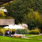 restaurant in the grass by terezadelpilar~ art & architecture