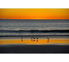 Sunset over Broome Beach Photographic Print