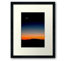 Portrait of Dawn  Framed Print