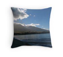 VALLEY MOUNTAINS Throw Pillow