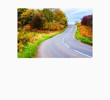 Autumn countryside road  Unisex T-Shirt