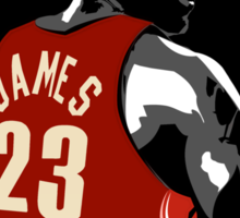 Lebron James Sticker