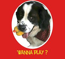 Wanna Play? Unisex T-Shirt