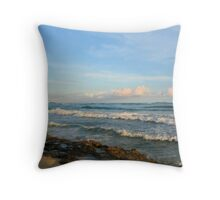 SHORELINE II Throw Pillow